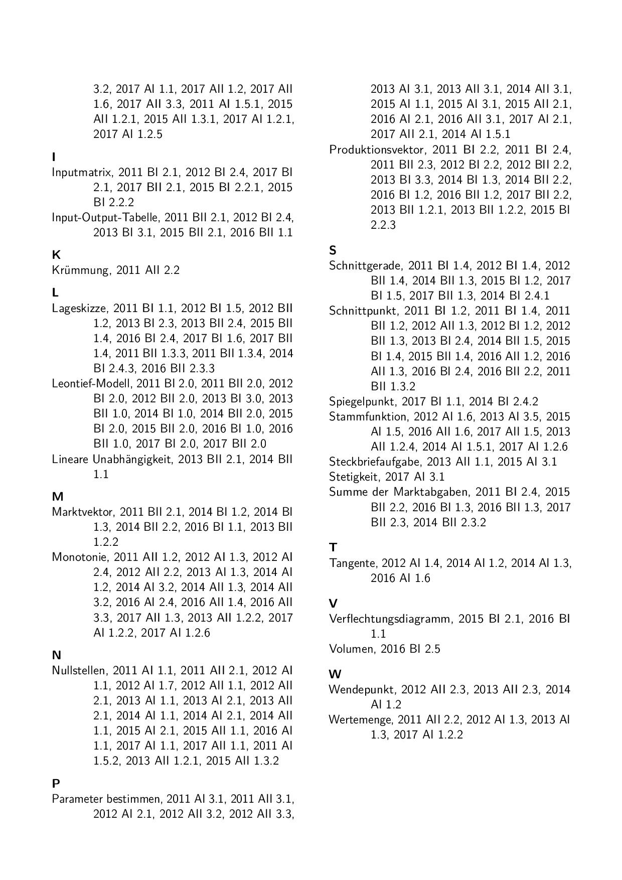 Abiturprüfung FOS/BOS Bayern 13. Klasse Mathematik NIchttechnik 13 ...