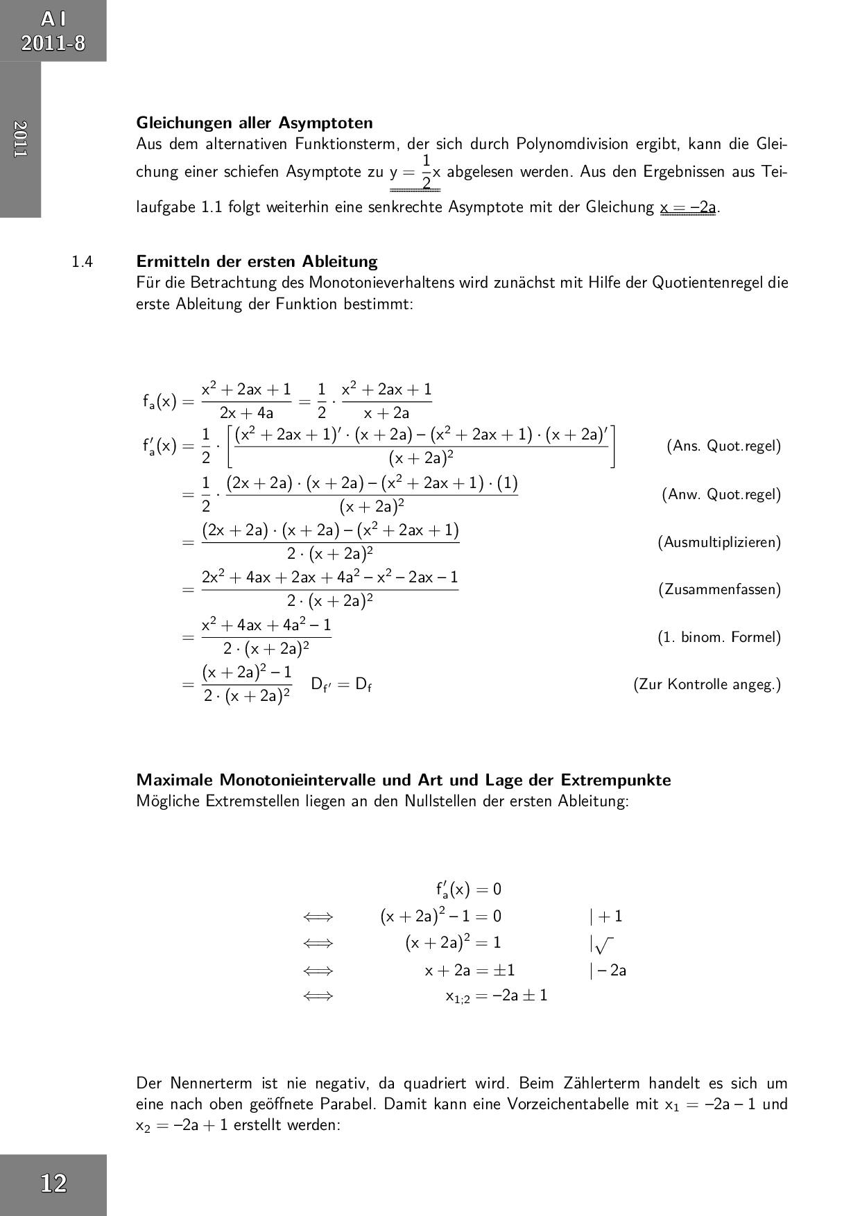 Abiturprüfung Mathematik Technik Fos Bos 12 Klasse In